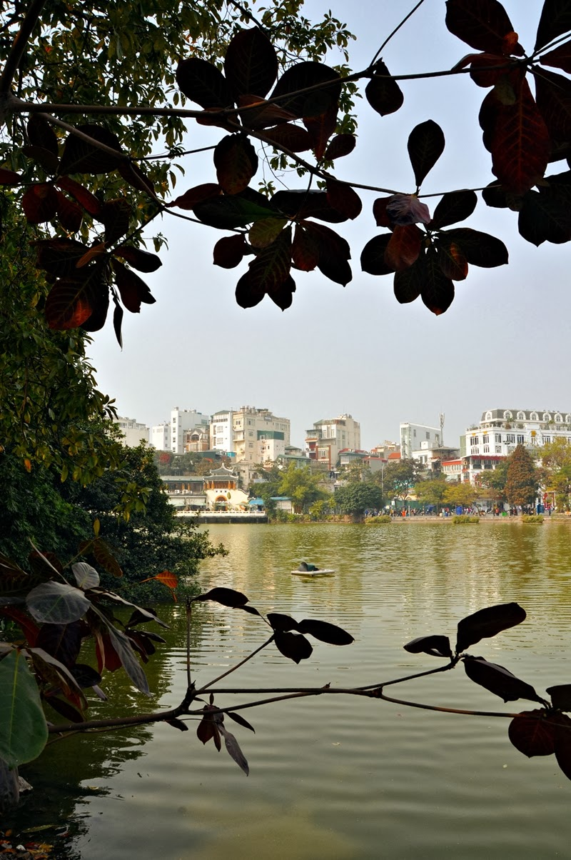 Hoan Kim See, Blick auf Hanoi