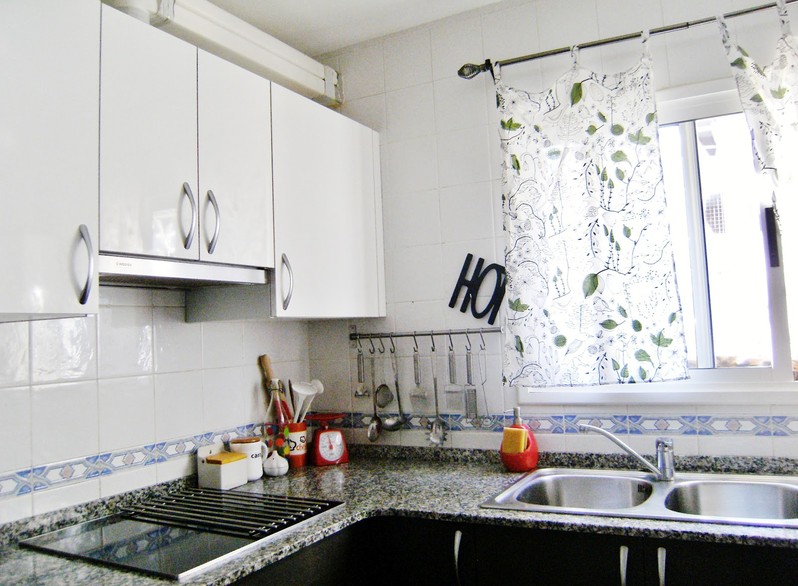 cortinas puerta cocina ikea