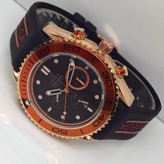 Omega Seamaster Rubber Orange