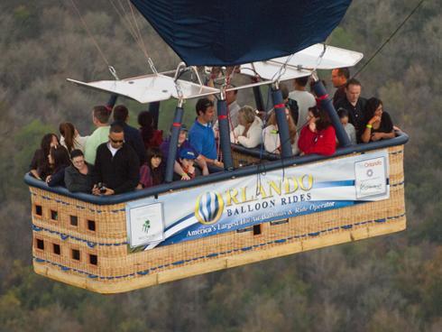 Voar de balão - Orlando