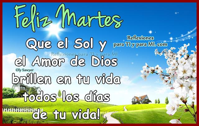 Que el Sol y el Amor de Dios  brillen en tu vida todos los días de tu vida!