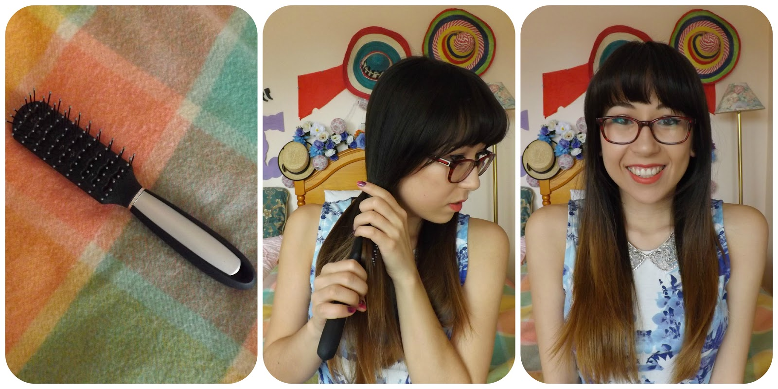 How To Curl Hair Using A Straightener Big Bouncy Waves