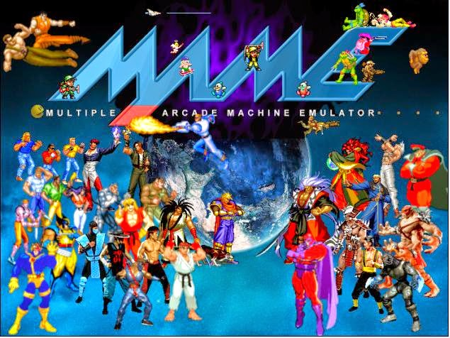 Mame 32 + Best Games Roms Full