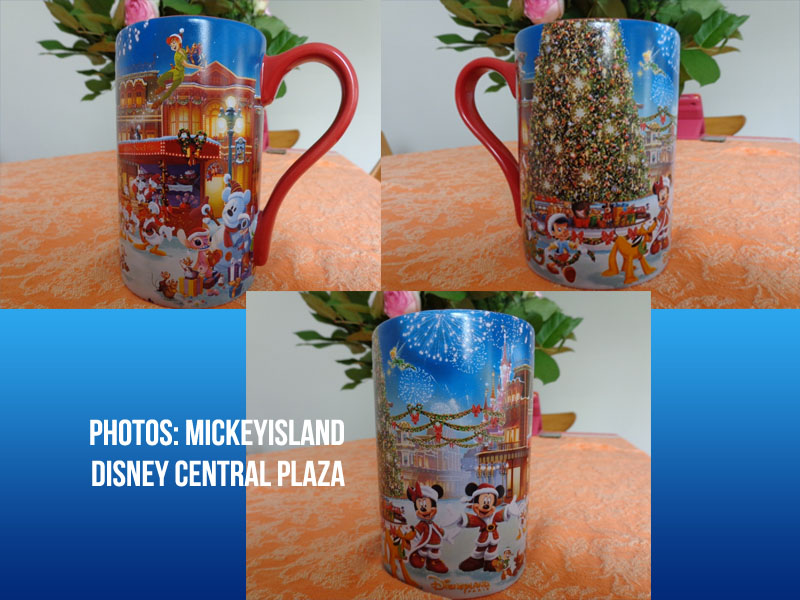 Disneyland Paris Christmas 2013 mug