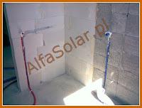 Instalacja wodna do prysznica, wanny i umywalki
