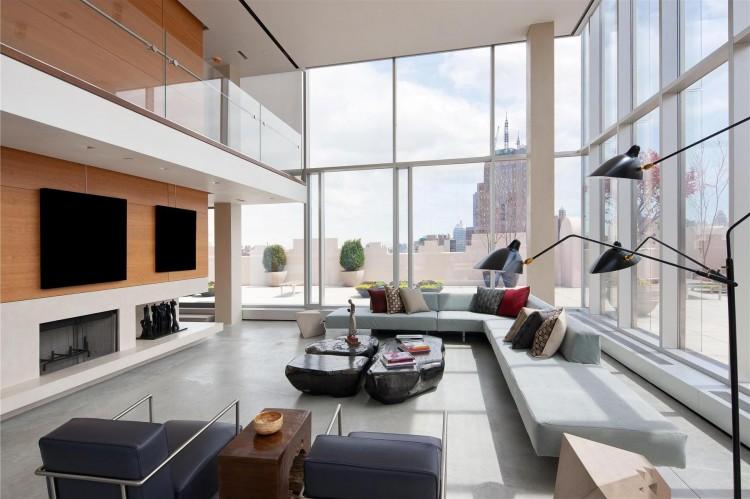 45 Million Glass Skyloft Penthouse Apartment Overlooking