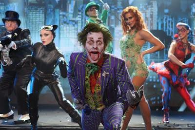 el guason joker en el musical de batman