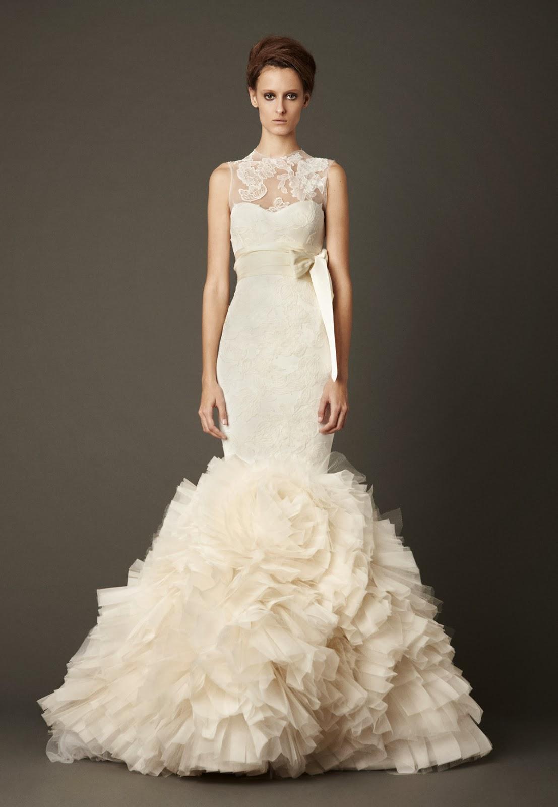 Vera Wang Lark Mermaid Wedding Gown Wedding Dress Daily