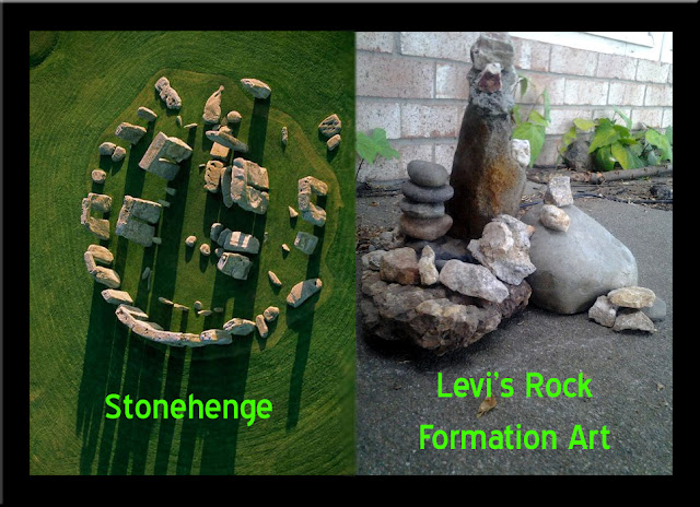 Was Stonehenge created by somebody with autism, like Levi?
