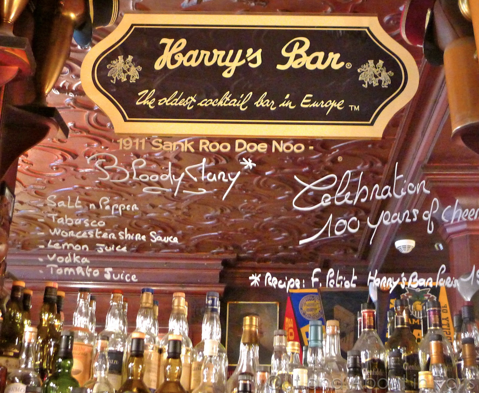 Резултат с изображение за Bloody Mary harris bar paris