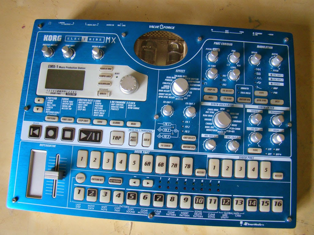 Bypassing the Valves on the Korg ESX and EMX