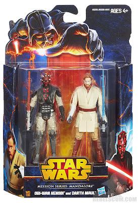 Hasbro Star Wars Mission Series: Mandalore - Obi-Wan Kenobi & Darth Maul Figures