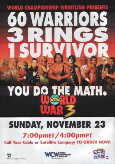 Post image of WCW World War III 1997