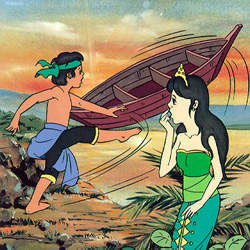 "Contoh Narrative Text – The Legend of ""SANGKURIANG"""