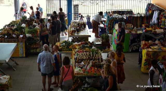 Martinique - Le Diamant - marché