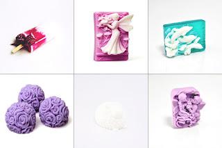 ozdobne mydełka, pomysł na prezent, co pod choinkę