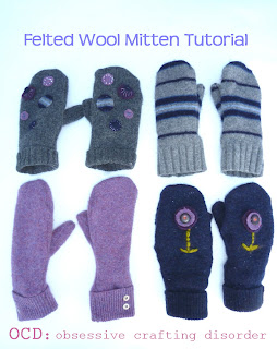 felted mittens pattern on Etsy, a global handmade and vintage