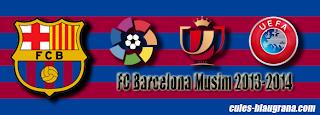 Jadwal & Hasil Pertandingan FC Barcelona Musim 2013