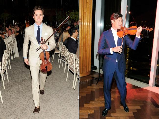 el violinista con mas estilo