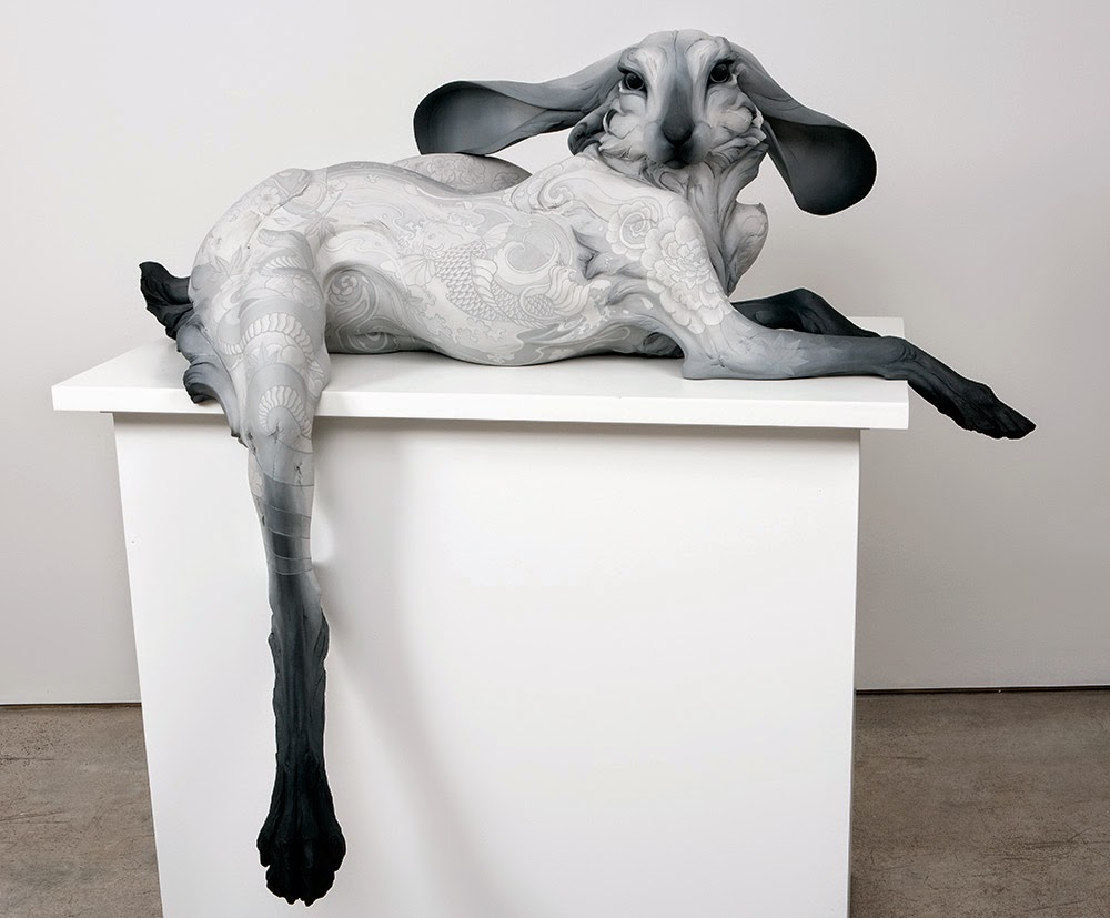 ceramic animal sculptures beth cavener stichter-7