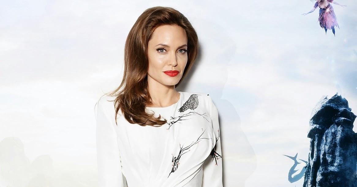 Angelina Jolie Wears Maleficent High Heels Shoes Online
