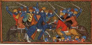 Medieval Battle Scene
