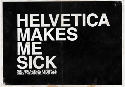 25 helvetica poster design for inspiration