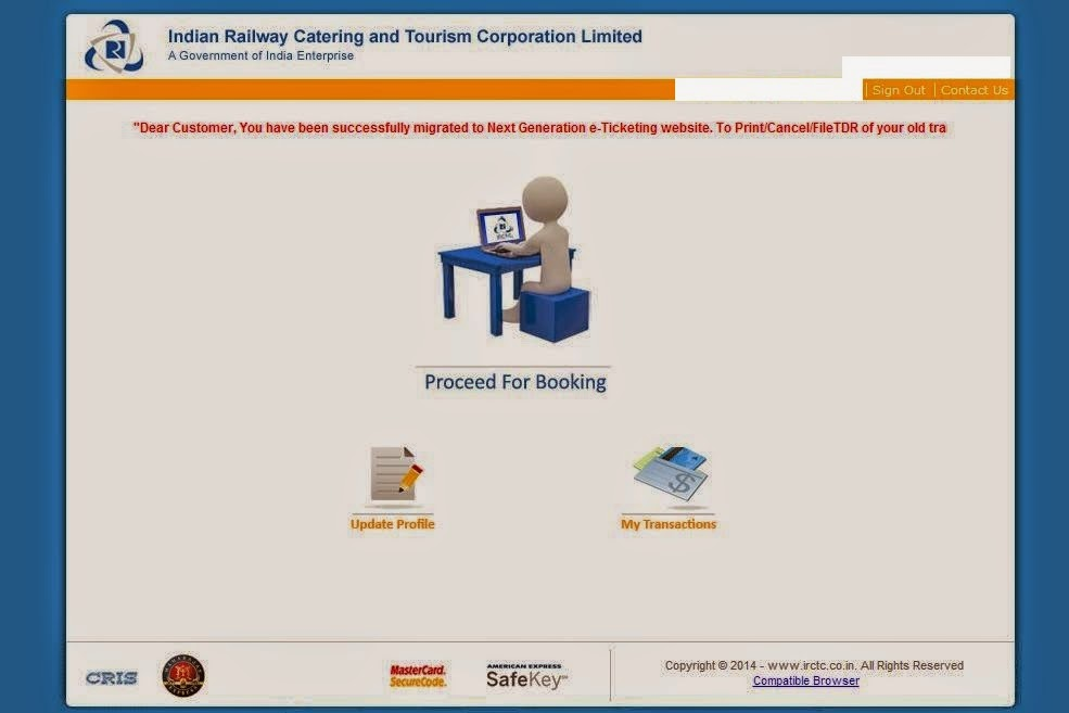 e ticketing system in railway Yet another leap forward, cns limited uses its railway ticketing engine's core to introduce e-ticketing system the system consumes the core rts data.