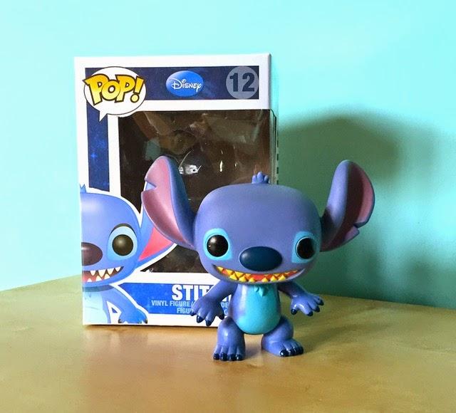 Morgan's Milieu | Pop! Vinyl Figure Review: Photo of Pop! Vinyl Stitch.