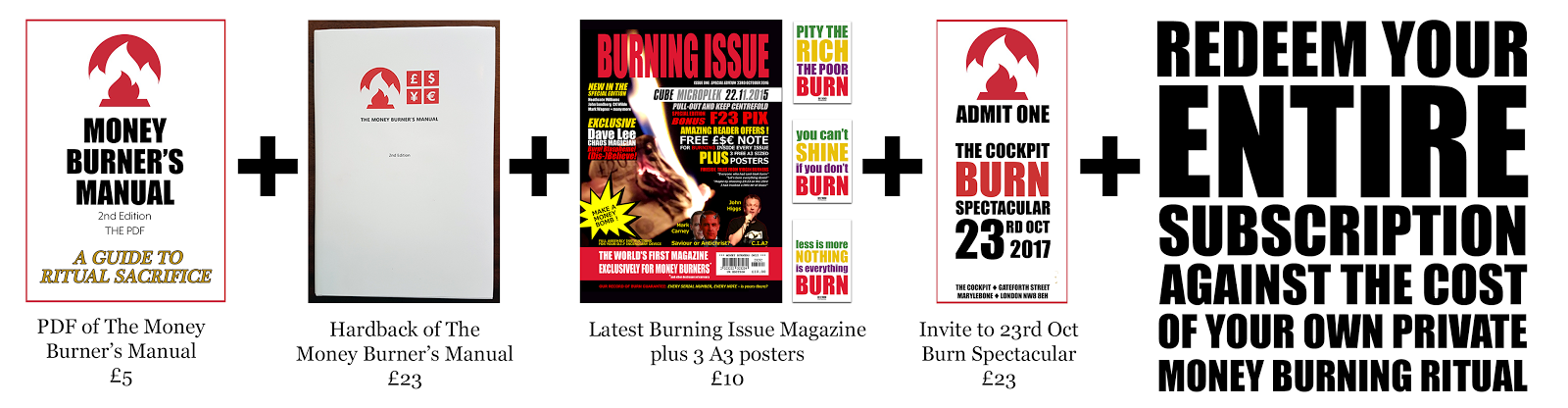 Subscribe to Contribute £23 per month and you get:
