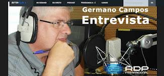 Germano Campos na RDP INTERNACIONAL entrevista Maria João Martins sobre a Margarida Marante