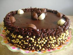 Torta sonho de valsa/Confeitos