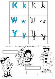 Atividades Alfabetização - Método Fônico KWY