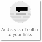 Add stylish Tooltip to your links