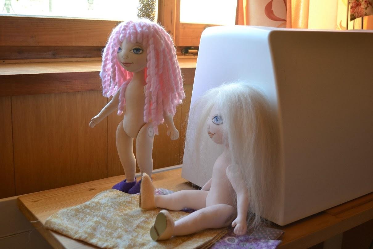 NatalKa Creations - процесс сщздания текстильной куклы