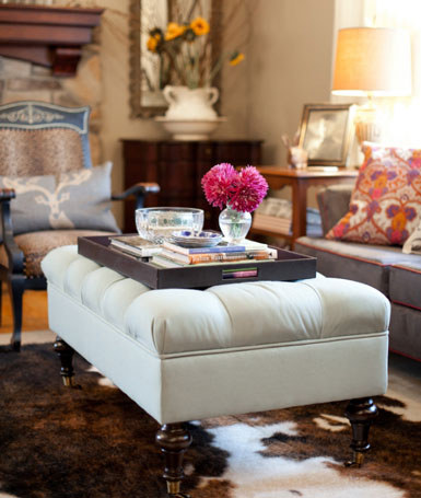Living Room Cocktail Ottoman Ideas On Pinterest Cocktail