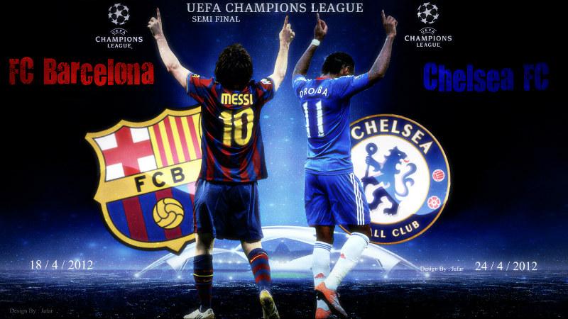 مشاهدة مباراة برشلونة وتشيلسي بدون تقطيع اليوم 18/4/2012 بث مباشر اون لاين من الجزيرة