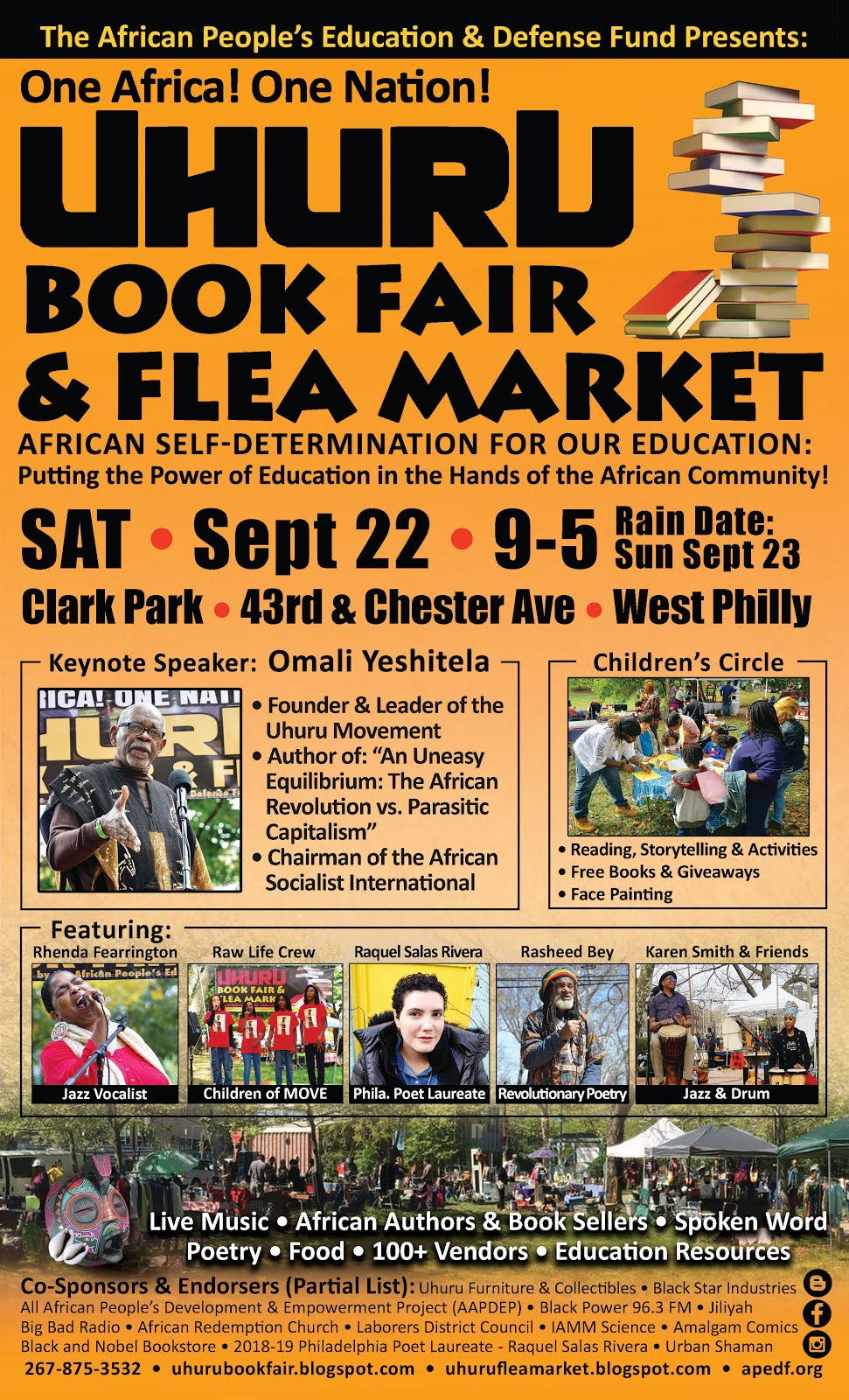 4th Annual Uhuru Book Fair & Flea Market