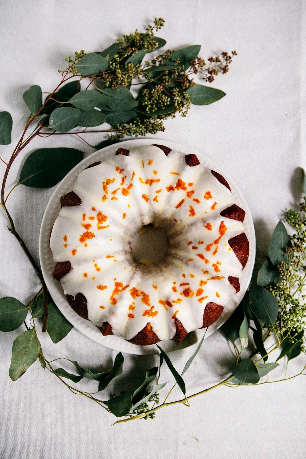Tangerine Sour Cream Pound Cake Hummingbird High A Desserts And