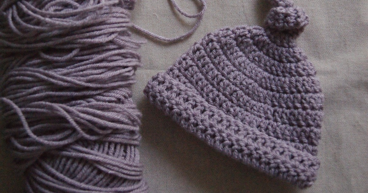 Shirley and Eadie: Crochet for a Cause & Newborn Hat Pattern