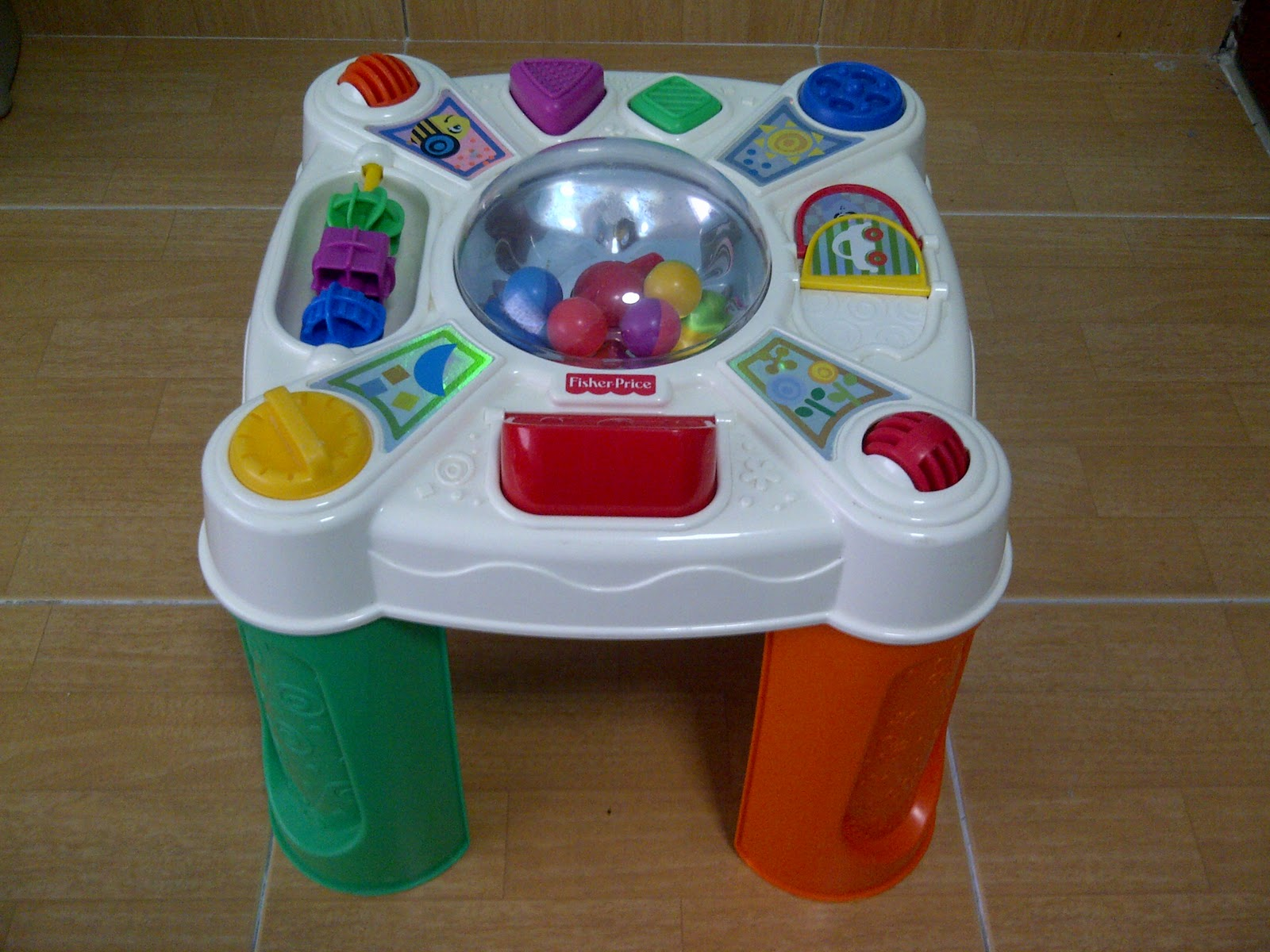 Special toys shop fisher price musical pop tivity table - Table activite fisher price ...