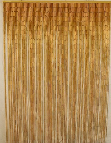 Bamboo Beaded Curtain Bamboo Craft Photo