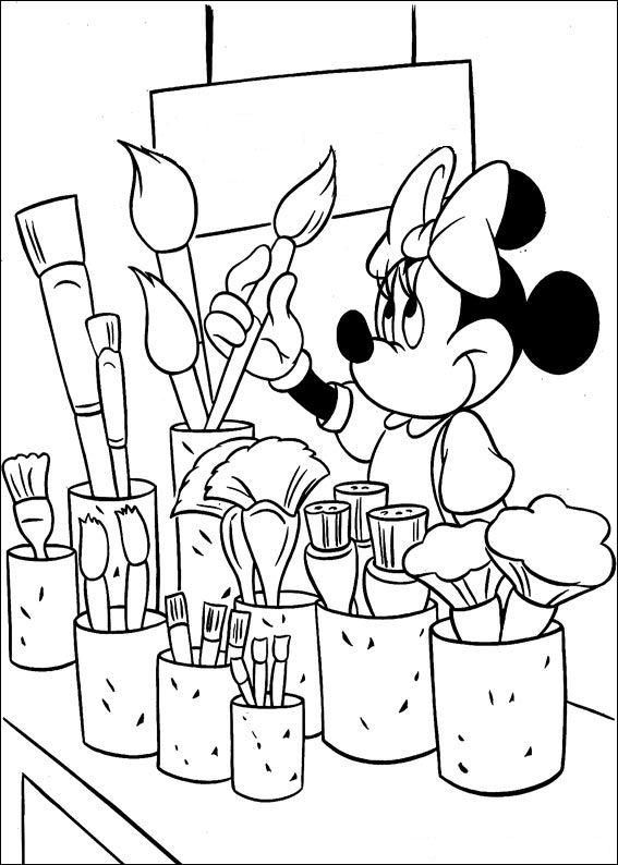 Großartig Baby Minnie Maus Malvorlagen Drucken Fotos - Ideen färben ...