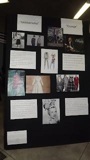 Semana de Moda - Exposição dos Alunos - Utilitarismo e Grunge