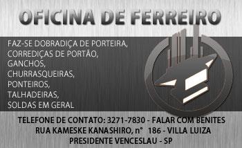 OFICINA DE FERREIRO