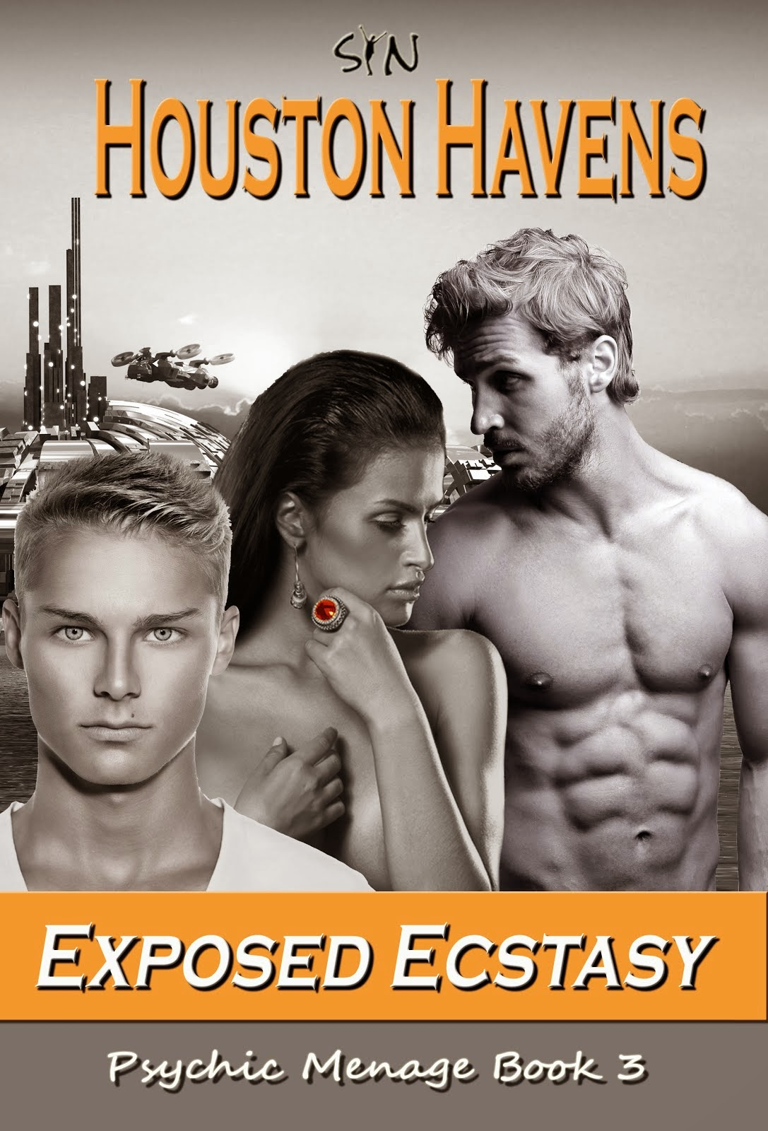 Book 3 in the Houston Havens Series Psychic Menage  is OUT!