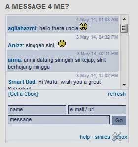 kaedah tingkatkan trafik dengan meninggalkan mesej di chatbox