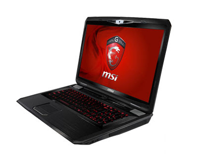 MSI GT780DX Gaming Notebook 2011