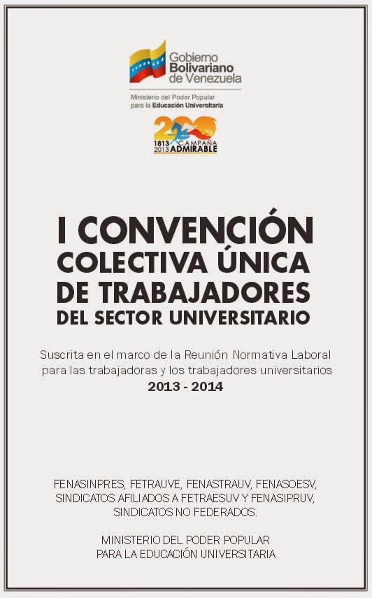 Click para Ver Documento Oficial de la I CCU Trabajadores del Sector Universitario
