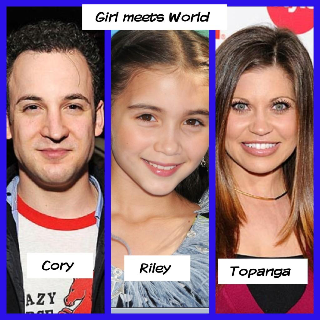 topanga and cory dating in real life A couple of weeks ago i heard that girl meets world had gotten canceled  so i  put together a list of how cory and topanga were the best.